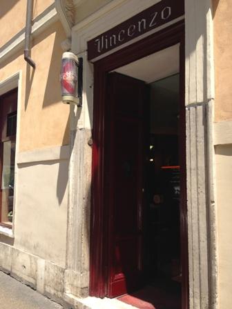 ローマの床屋さん