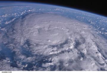 台風がすごい