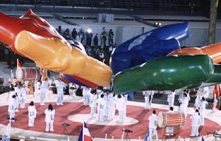 長野オリンピック閉会式