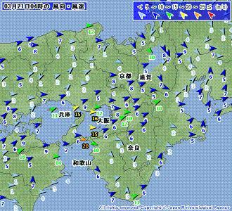 近畿 風速 201003210400-00