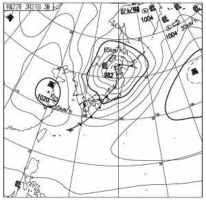 天気図 10032103