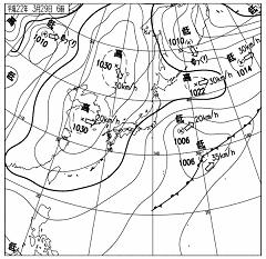 天気図 10032906