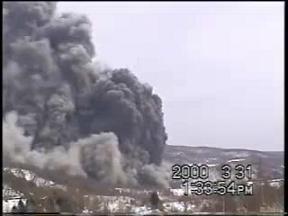 有珠山噴火 2000年 その3