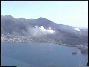 有珠山噴火 2000年 その5