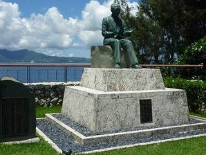 小渕恵三 銅像