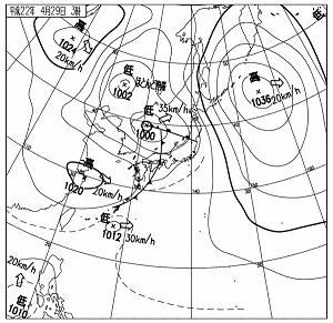 天気図 10042903