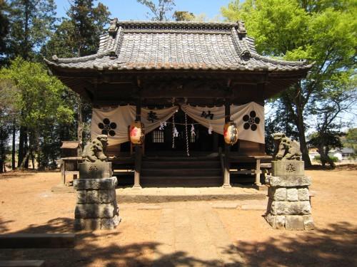 近所の神社
