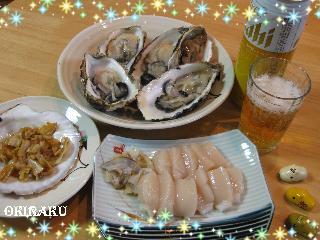 100103 ホタテと牡蠣