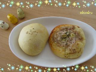 100207 ツナとウインナーのパン