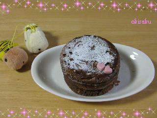100218 レンジでケーキ