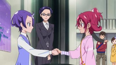 握手、お願いします!