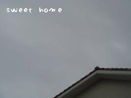 空、くもり