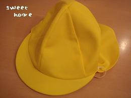 つき帽子・元