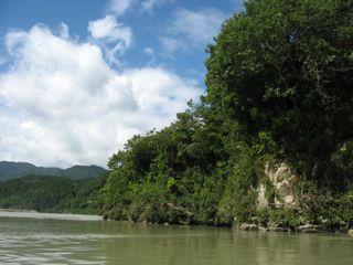 河口直前風景2