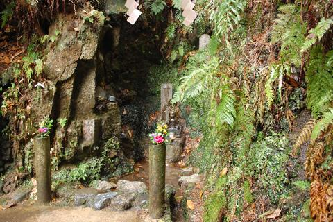宮本武蔵の修業の滝