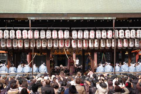 八坂神社の節分祭