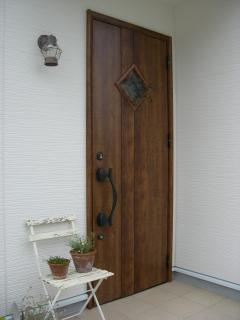 きなりちゃんちのドア