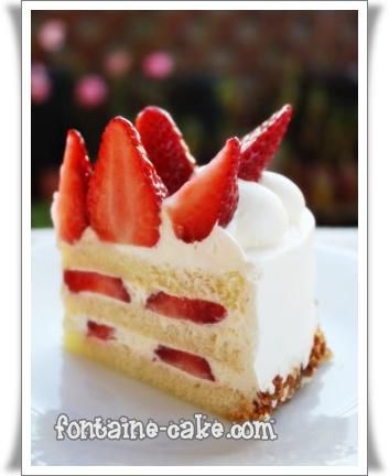 おうち用クリスマスケーキ