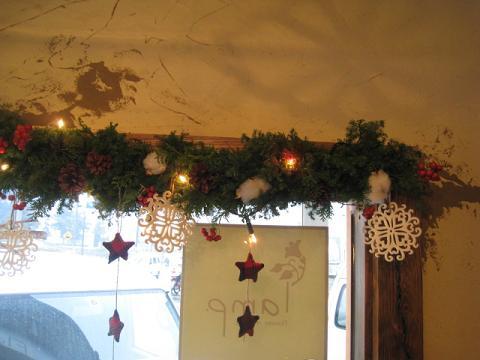 クリスマス窓枠