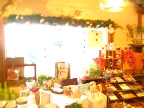 クリスマス窓枠3