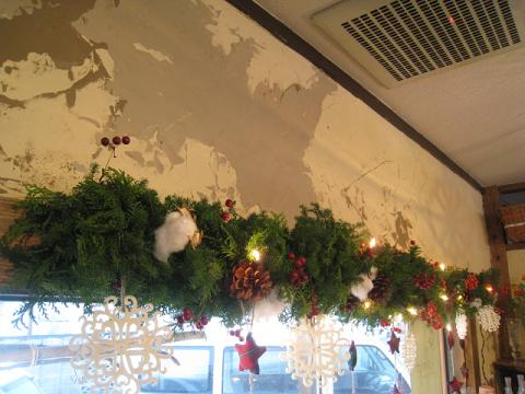 クリスマス窓枠2