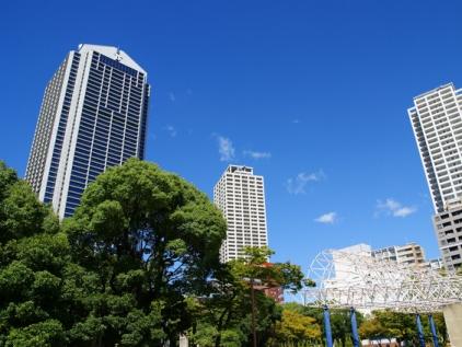 東遊園地、神戸市役所 - コピー