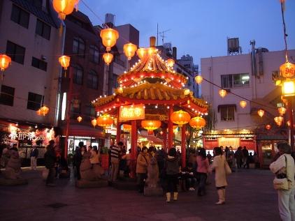 南京町(夜)