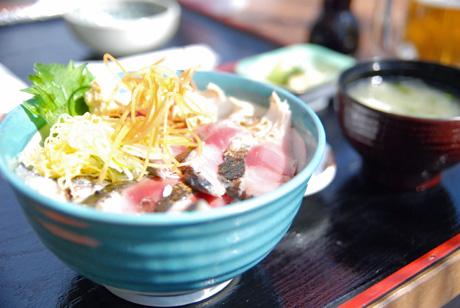 松輪サバ丼