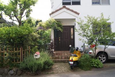 2010年 玄関前