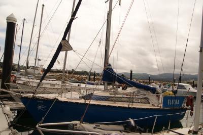 ribadeo エルバのヨット