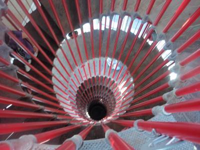 2010.8.9  リュブリャーナ 螺旋階段