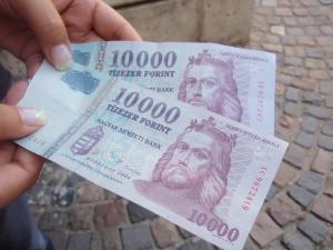 2010.8.11 ブダペスト 通貨 HUF