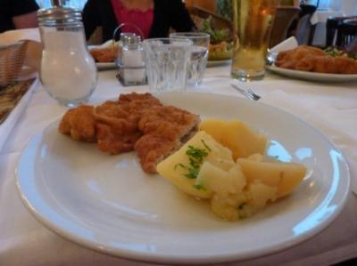 2010.8.15 ウィーン 料理 1