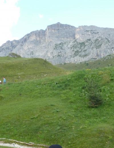 2010.8.21 コルティーナ 山頂