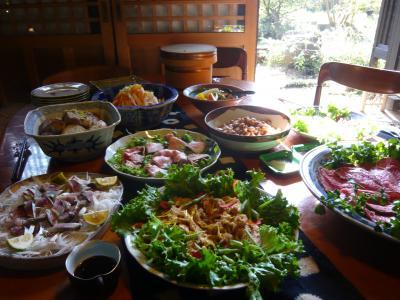 2010.11.7 茨城 食事