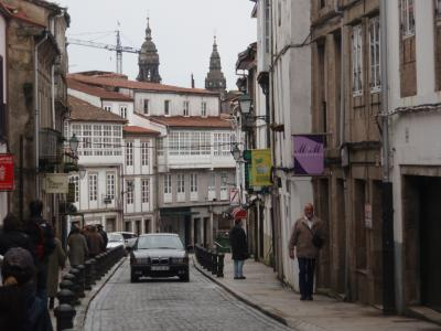 Santiagoの街
