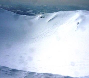 頂上スキー