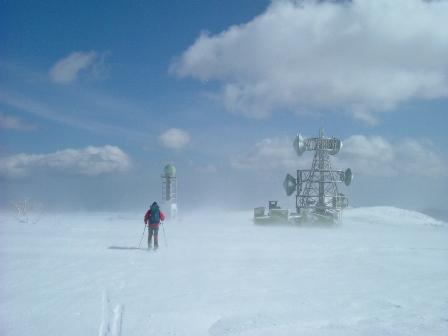気象台レーダーと自衛隊レーダー