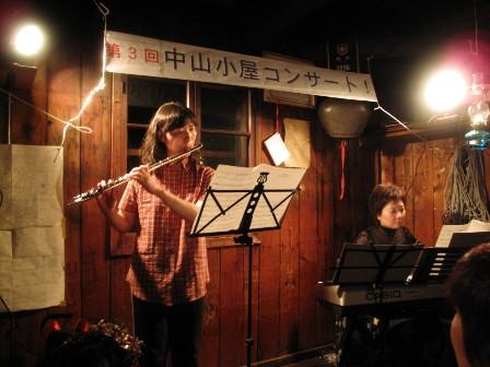フルーティストとピアニスト
