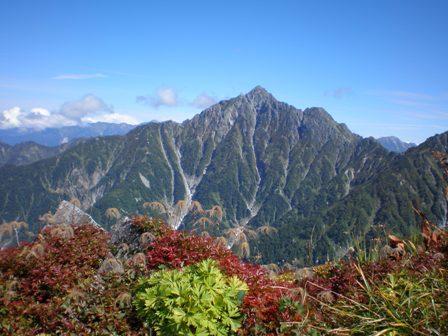 奥大日岳から剣岳
