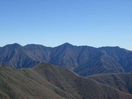 イドンナップ山頂より眺望