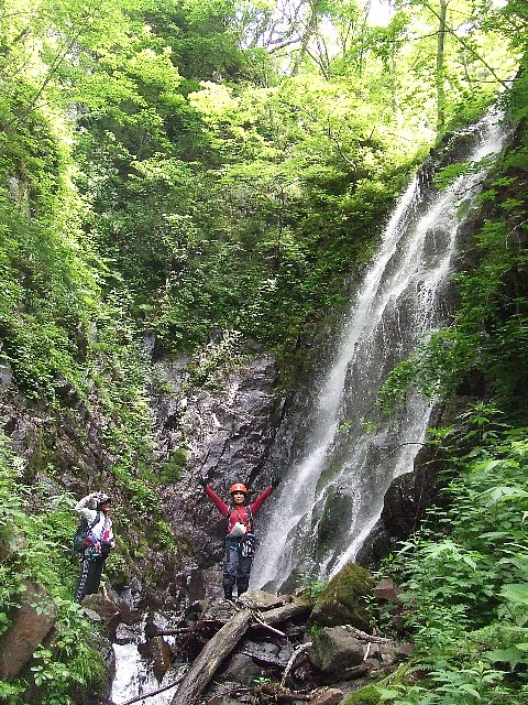 15m修行の滝