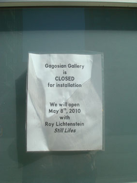 gagosian gallery③