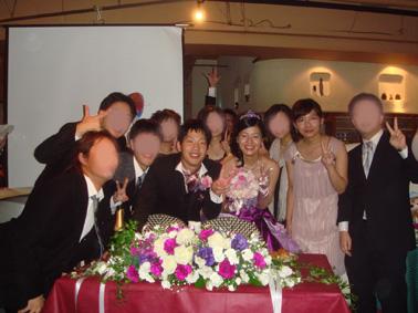 Kちゃん&PAPA 結婚式二次会