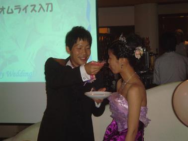 Kちゃん&PAPA 結婚式二次会③