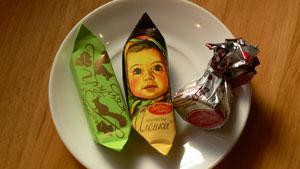 ロシアのチョコ2
