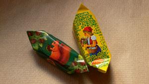 ロシアのチョコ1
