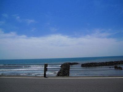 湘南の海って広々ですねぇ~