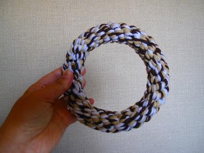 ロープの輪っか。