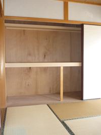 みどり荘-和室収納